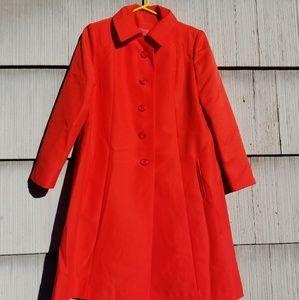 Vintage lightweight orange jacket.